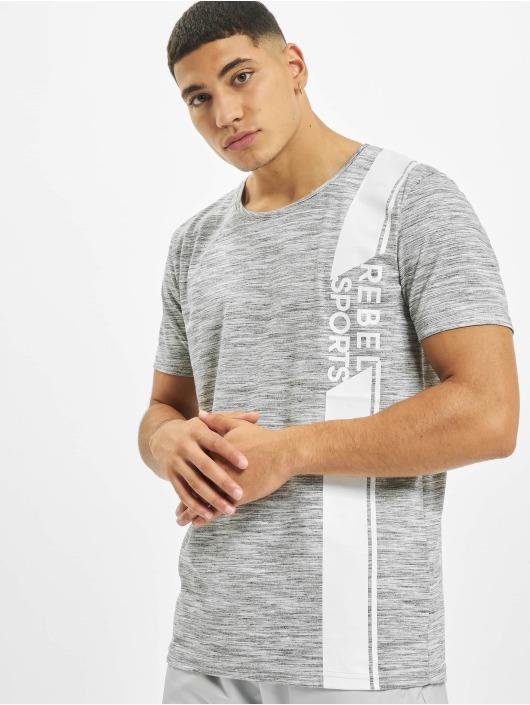 Sky Rebel T-shirts Sports grå