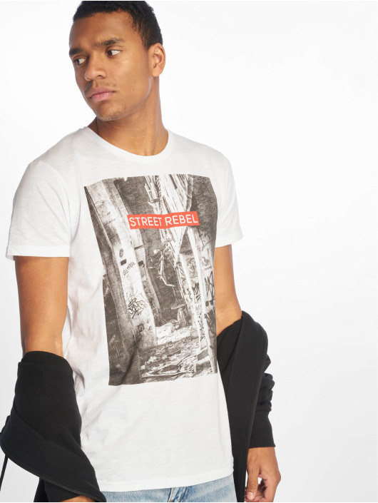 Sky Rebel T-Shirty Loui bialy