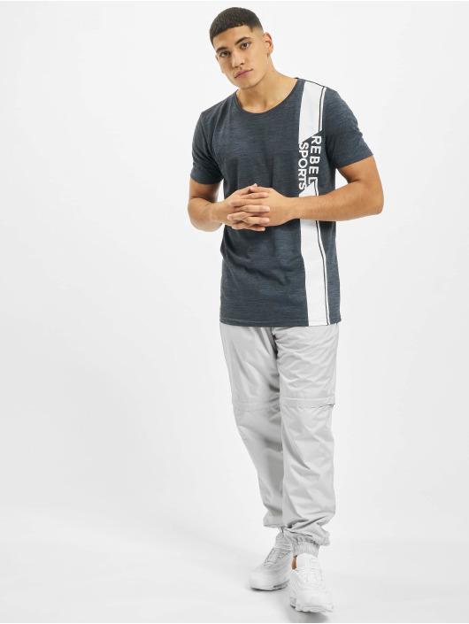 Sky Rebel T-Shirty Sports niebieski