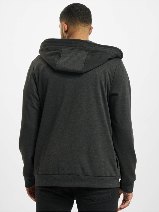 Sky Rebel Zip Hoodie Basic серый