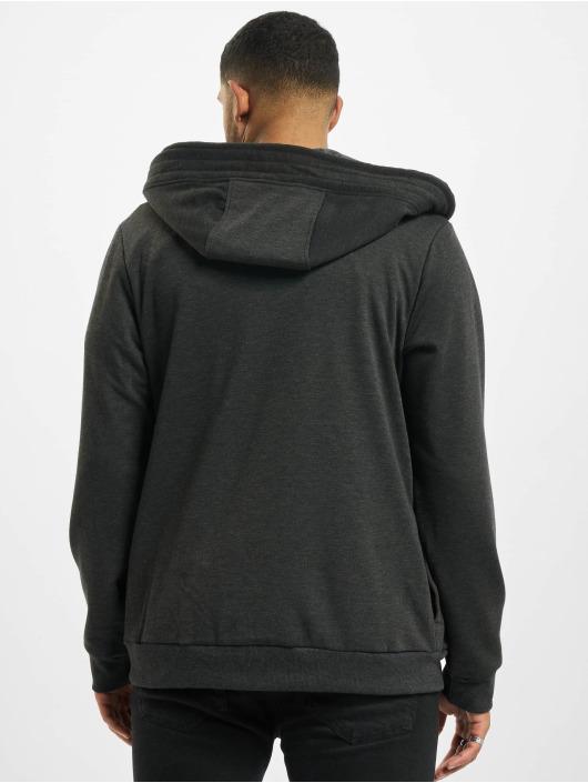 Sky Rebel Zip Hoodie Basic grå