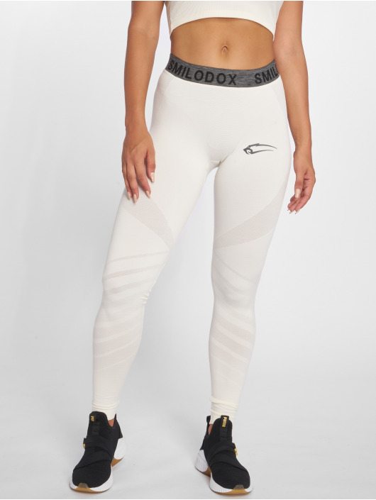 Smilodox Leggings/Treggings Seamless bezowy