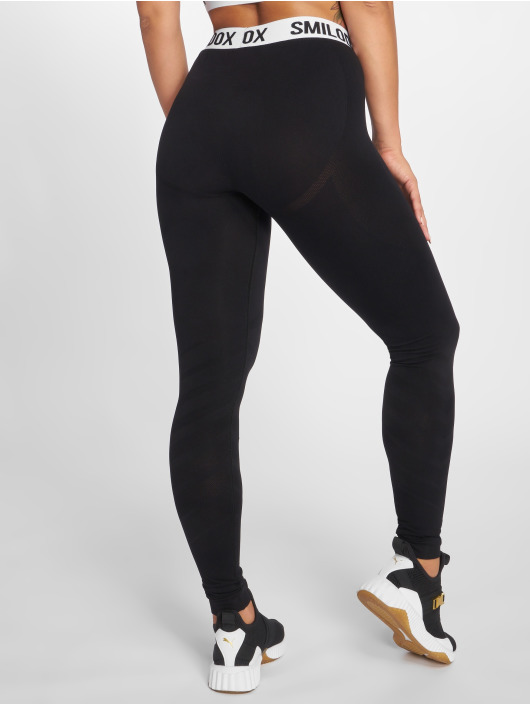 Smilodox Leggings/Treggings Vira czarny