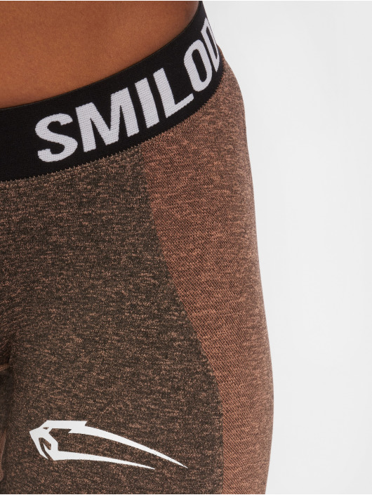 Smilodox Leggings/Treggings Seamless Autumn grå