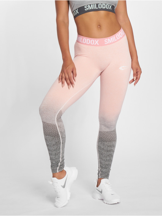 Smilodox Leggings/Treggings Seamless Recent rosa
