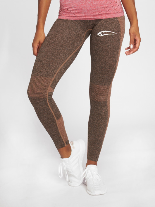 Smilodox Leggings/Treggings Seamless Autumn szary