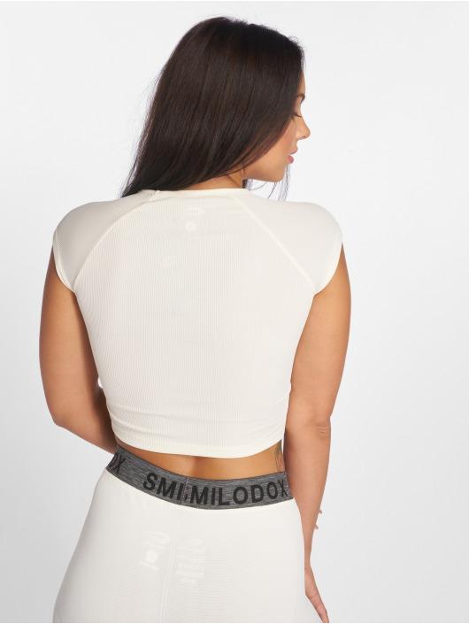 Smilodox Shirts de Sport Lara beige