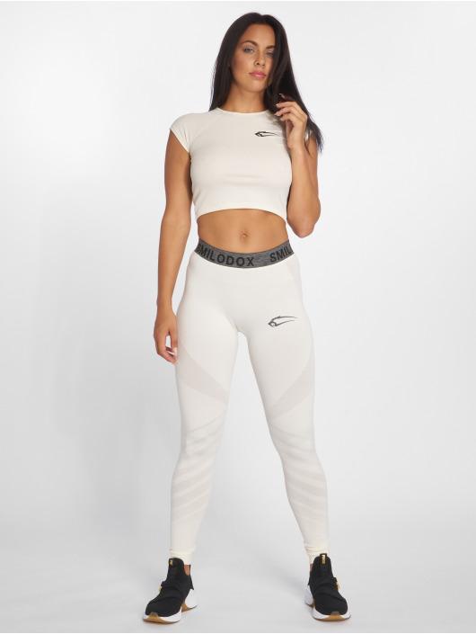 Smilodox Sport Shirts Lara beige