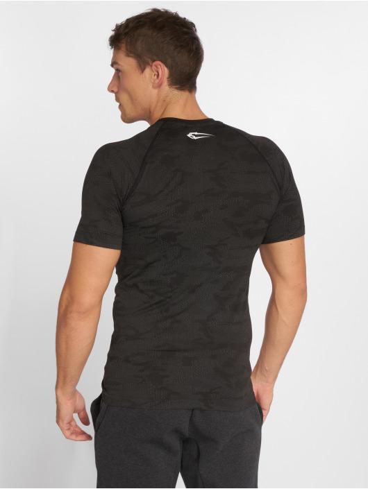 Smilodox T-Shirty Seamless Camo Pattern szary
