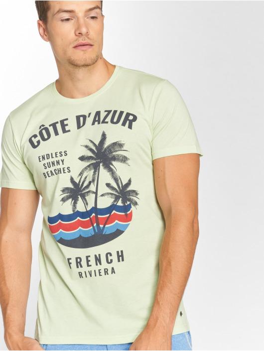 Solid Camiseta Omar verde