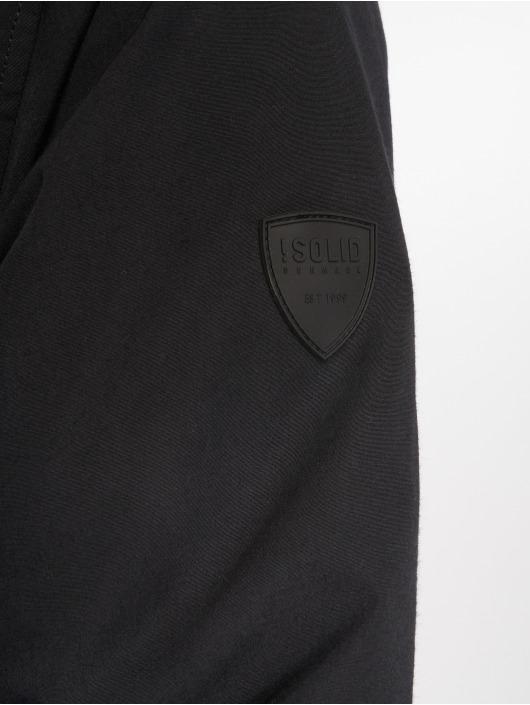Solid Manteau Steel noir