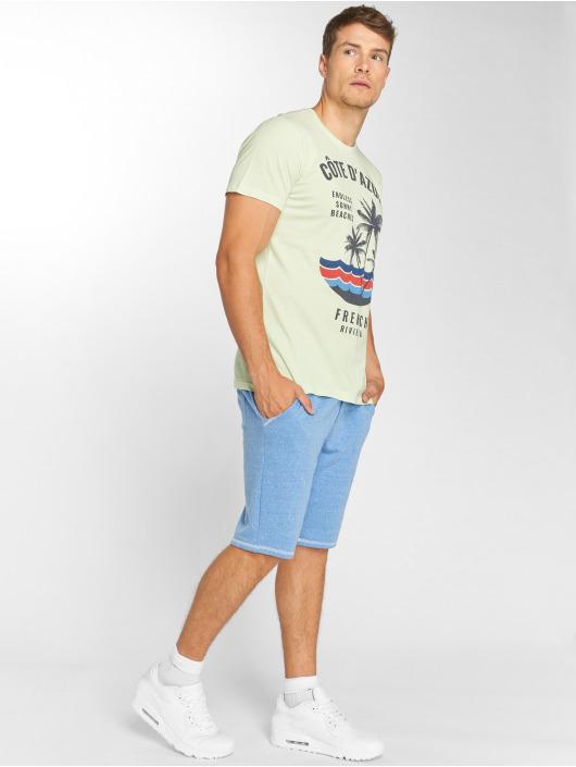 Solid shorts Olsen blauw