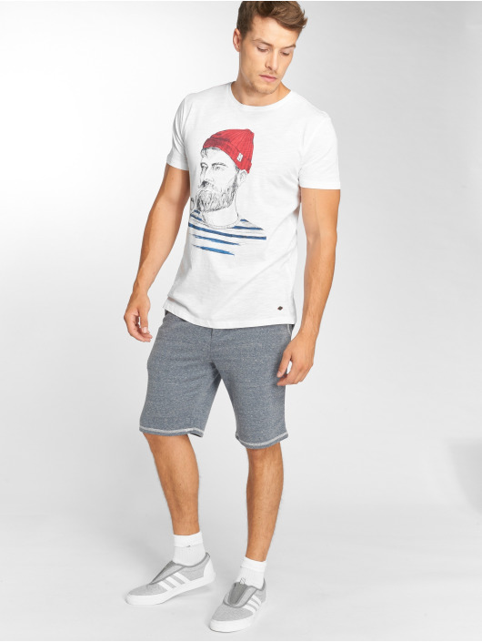 Solid T-Shirt Odissan blanc