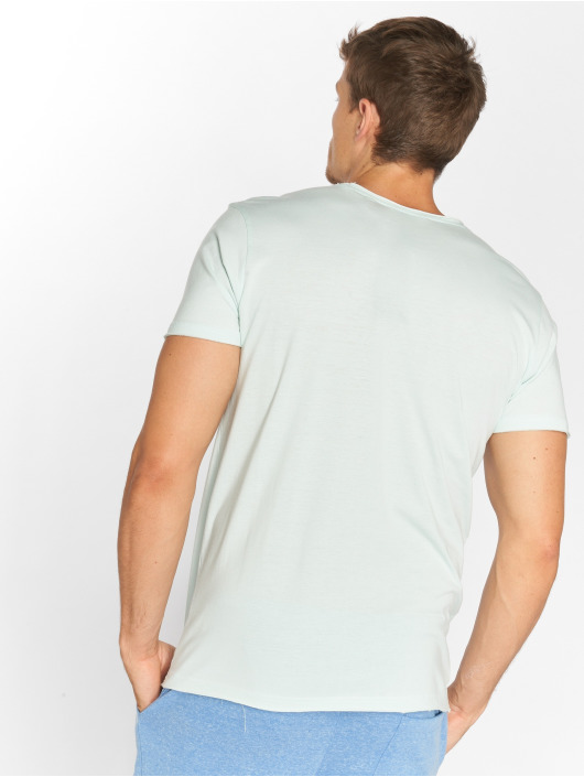 Solid T-shirts Orin blå