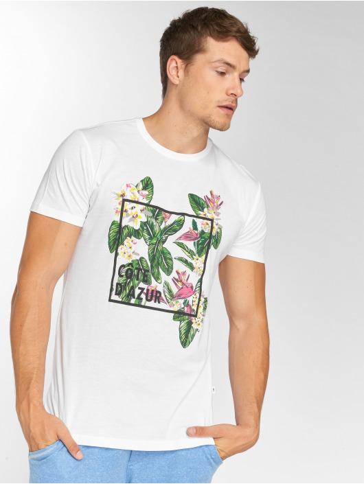 Solid T-skjorter Otar hvit