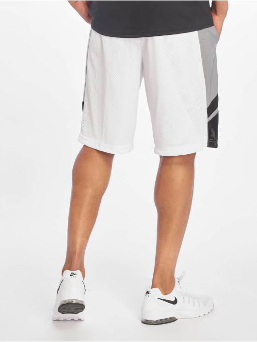 Southpole Šortky Basketball Mesh bílý