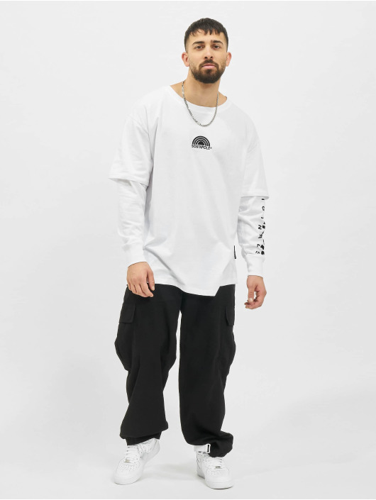Southpole Водолазка Basic Double Sleeve белый