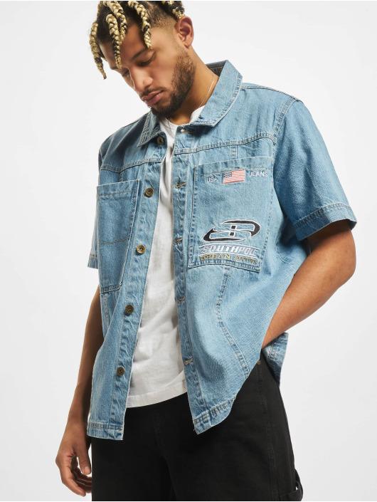 Southpole Рубашка Short синий