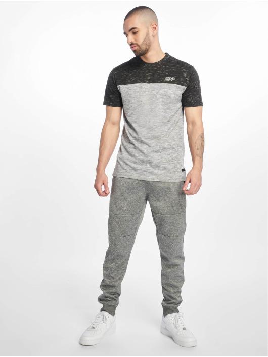 Southpole Спортивные брюки Zipper Pocket Marled Tech серый