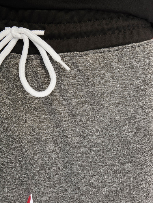 Southpole Спортивные брюки Color Block Marled черный