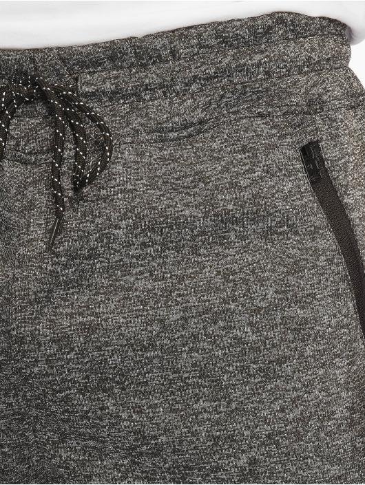 Southpole Спортивные брюки Zipper Pocket Marled Tech черный