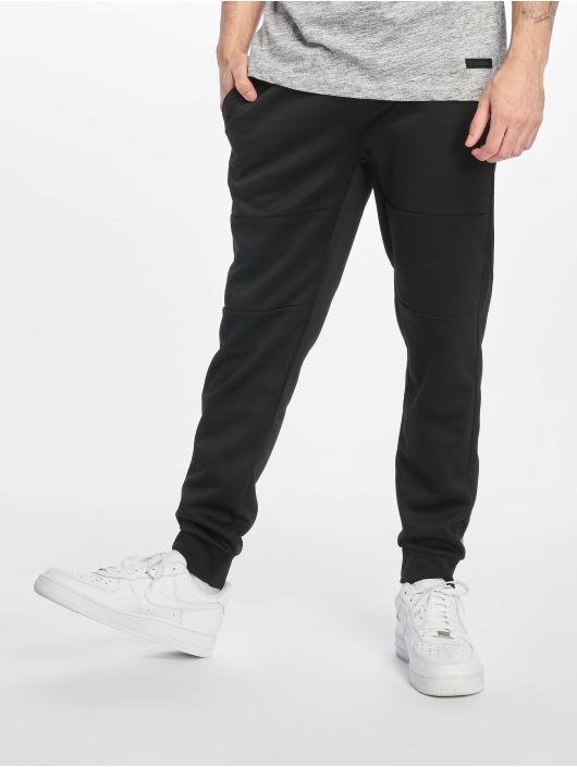 Southpole Спортивные брюки Basic Tech черный