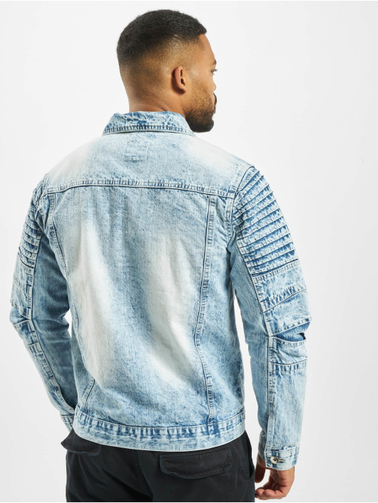 Southpole джинсовая куртка Biker Trucker синий