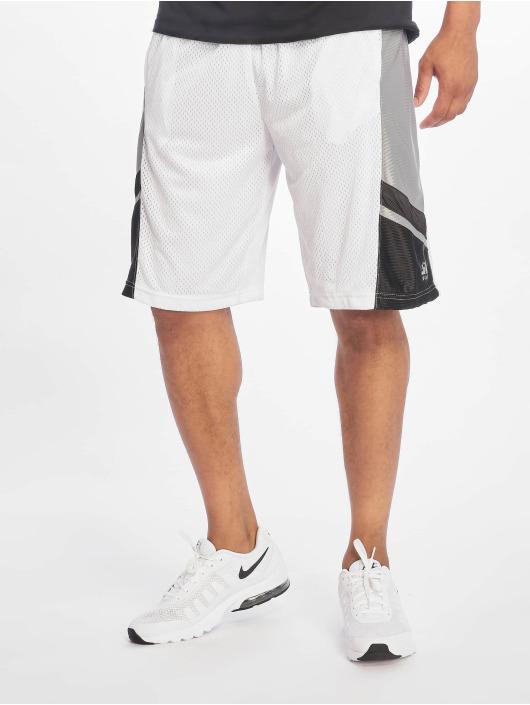 Southpole Basketballshorts Basketball Mesh bílý