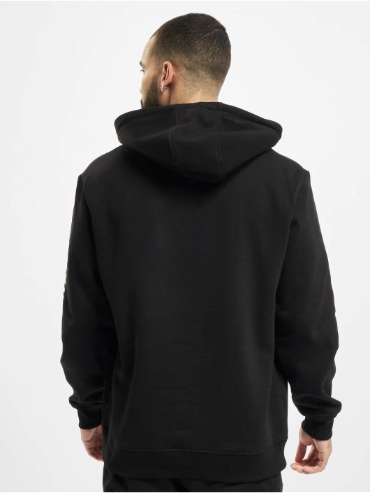 Southpole Bluzy z kapturem Halfmoon czarny