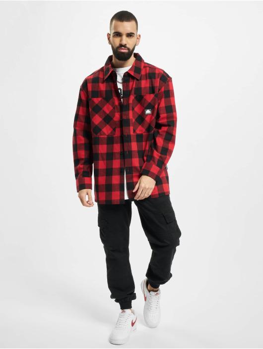 Southpole Camisa Check Flannel rojo