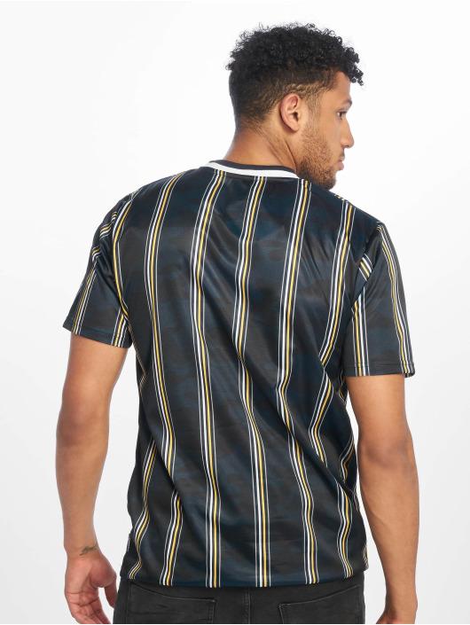 Southpole Camiseta Thin Vertical Stripes azul