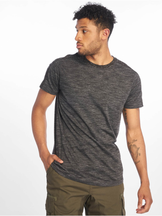 Southpole Camiseta Shoulder Panel Tech gris