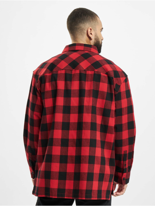 Southpole Chemise Check Flannel rouge
