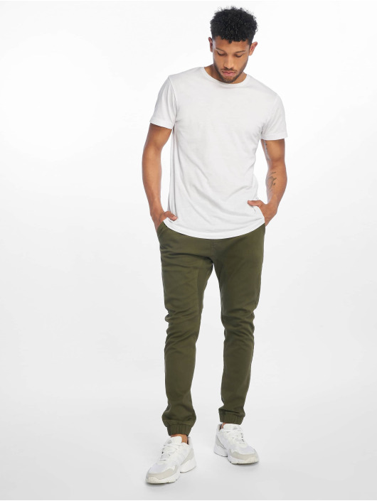 Southpole Chino Stretch olijfgroen