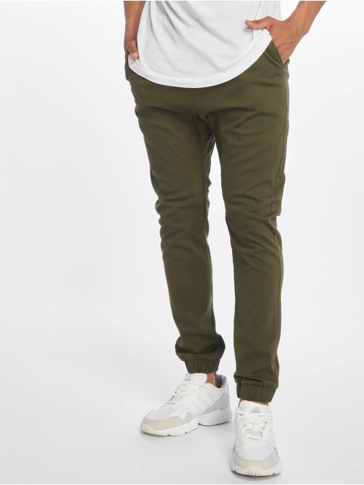 Southpole Chino pants Stretch olive