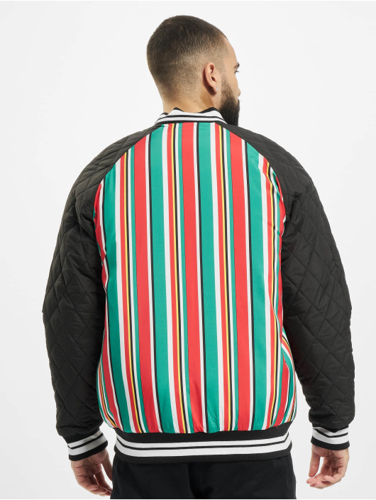 Southpole College Jackets Stripe College kolorowy