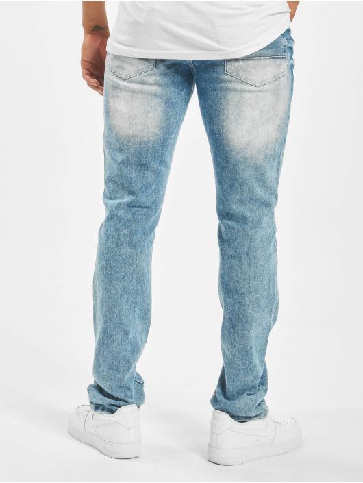 Southpole Dżinsy straight fit Stretch Basic niebieski