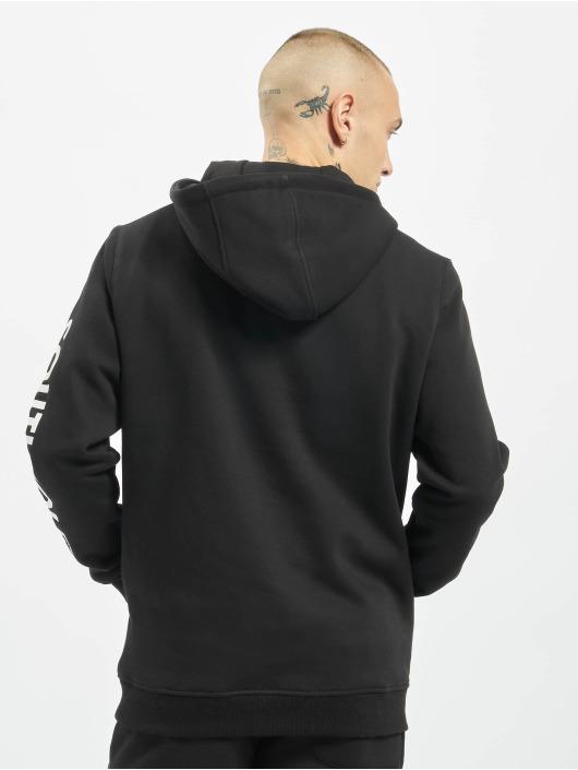 Southpole Felpa con cappuccio Nasa Insignia Logo nero