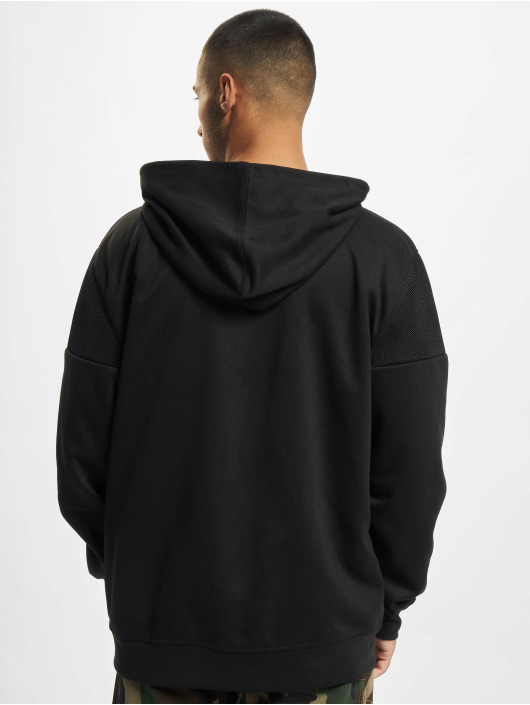 Southpole Felpa con cappuccio Neoprene Block Tech Fleece Full Zip nero