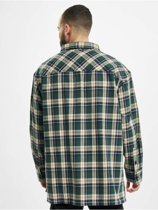 Southpole Hemd Check grün