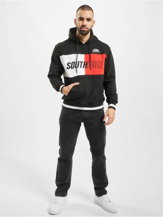 Southpole Hoodie Block Logo black