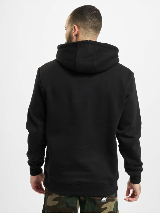 Southpole Hoodie Pu Application black