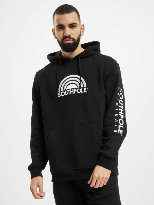 Southpole Hoodie Halfmoon black