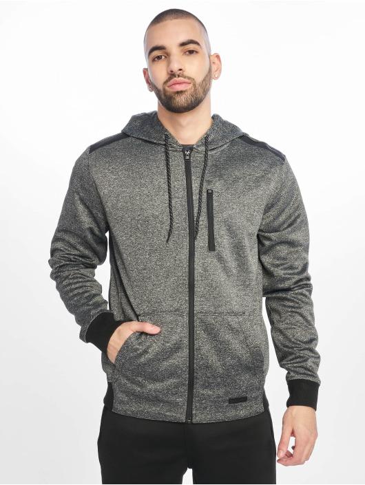 Southpole Hoodies con zip Tech Fleece nero
