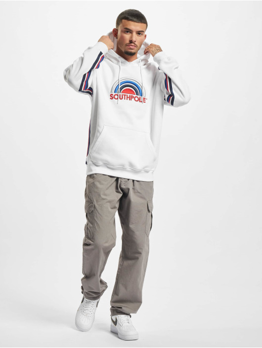 Southpole Hoody Multi Color Logo wit