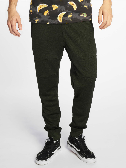 Southpole Joggebukser Marled Tech Fleece Pants oliven