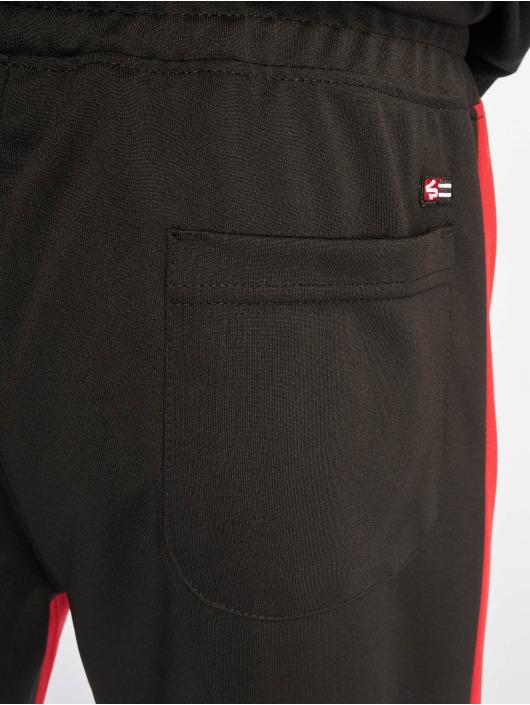 Southpole Jogging kalhoty Color Block Marled čern