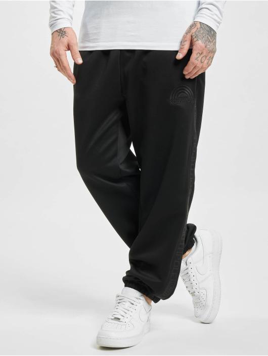 Southpole Jogging kalhoty Tricot With Tape čern