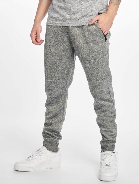 Southpole Jogging kalhoty Zipper Pocket Marled Tech šedá