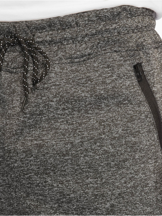Southpole Jogging Zipper Pocket Marled Tech noir